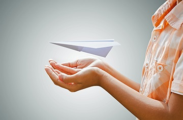 airplane paper flights concept Transportation 487736032 4016x2832